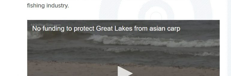 No Funding to Protect Great Lakes from Asian Carp
