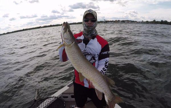 Big Musky Lake St. Clair on Strike King 8.0