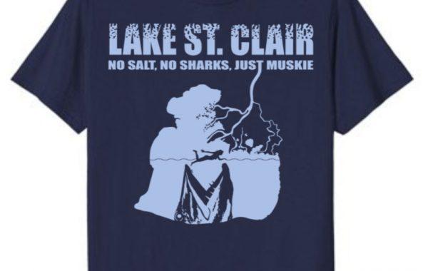 Funny Lake St Clair Muskie Shirt