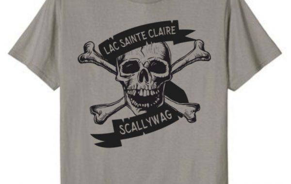 Lake St. Clair Scallywag Pirate Boating Shirt