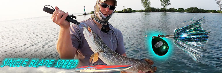 Single Blade Bucktail for Musky & Pike – Clinton River